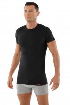 Functional undershirt Coolmax crew neck black