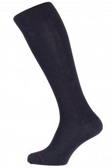 Thermocool business winter knee socks with Merino wool black