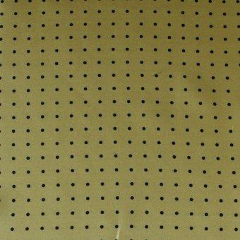 tie polka dot yellow-black, design 200286