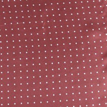 bow tie polka dot bordeaux-white, design 200287