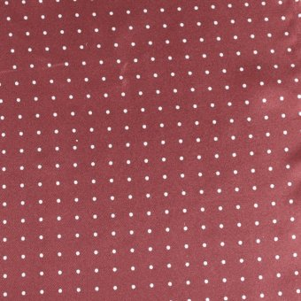 tie polka dot bordeaux-white, design 200287