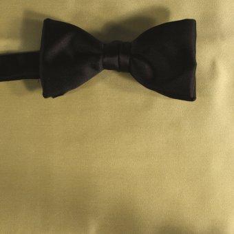 bow tie light yellow - unicolour, design 210023