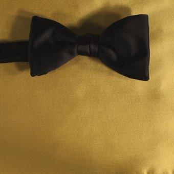bow tie yellow - unicolour, design 210025
