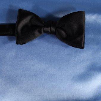 bow tie light blue - unicolour, design 210032