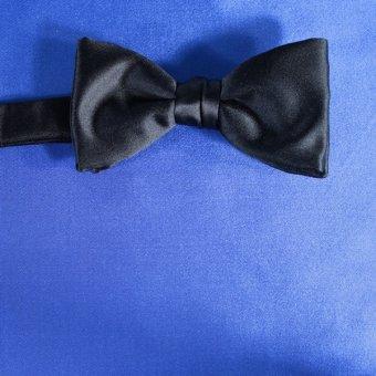bow tie blue - unicolour, design 210035
