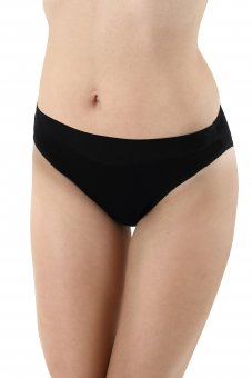 3-Pack Classic French cut briefs stretch cotton black S