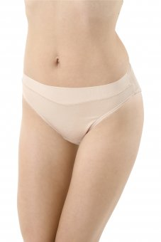 3-Pack Classic French cut briefs stretch cotton nude
