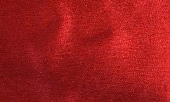 Pocket square red - unicolour, design 210045