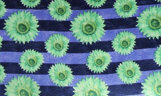 cummerbund green, blue - motives, design 200042