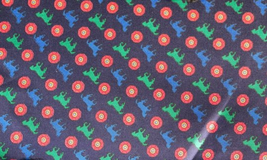 cummerbund red, green, blue, navy-blue - motives, design 200110