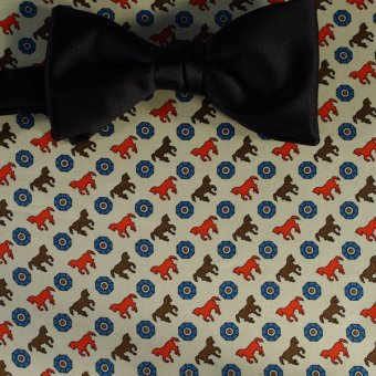 bow tie red, yellow, blue, brown, cream - motives, design 200115