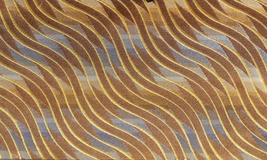 tie gold, brown - patterned, design 200177