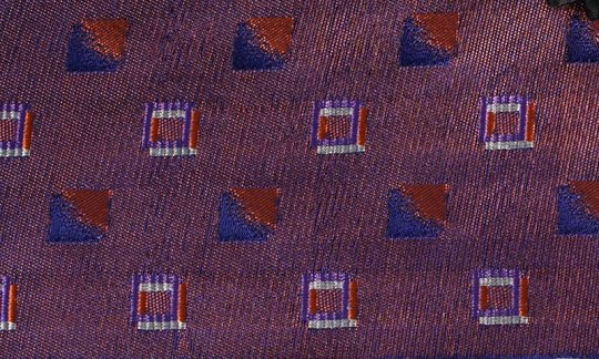 cummerbund red, navy-blue, ruby-colored, terracotta - squares, design 200196
