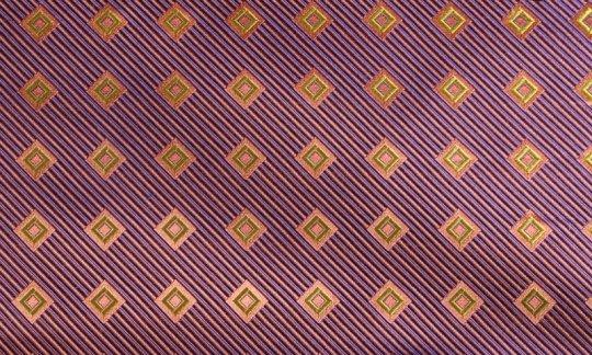 cummerbund yellow, green, orange, violet - squares, design 200219