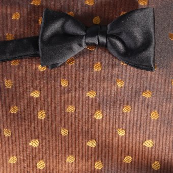 bow tie yellow, gold - motives, design 200260