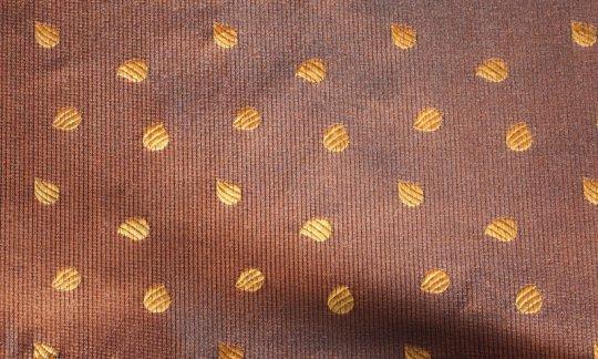 silk scarf yellow, gold - motives, design 200260