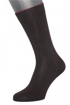 Men's business winter socks cotton-cashmere black