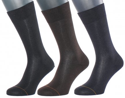 Men's business suit socks with cashmere interior