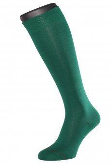Men's knee-high socks Fil d'Ecosse green