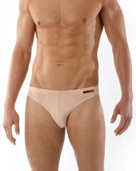 "2-Pack Men's sportive briefs ""Hamburg"" stretch cotton nude M"