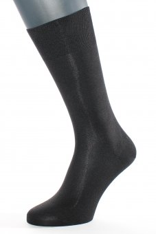 "Men's business socks ""elegant pure silk"""