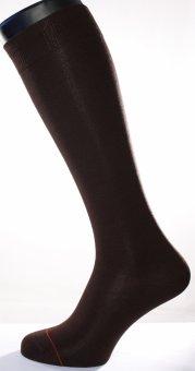 Men's knee-high socks Fil d'Ecosse brown