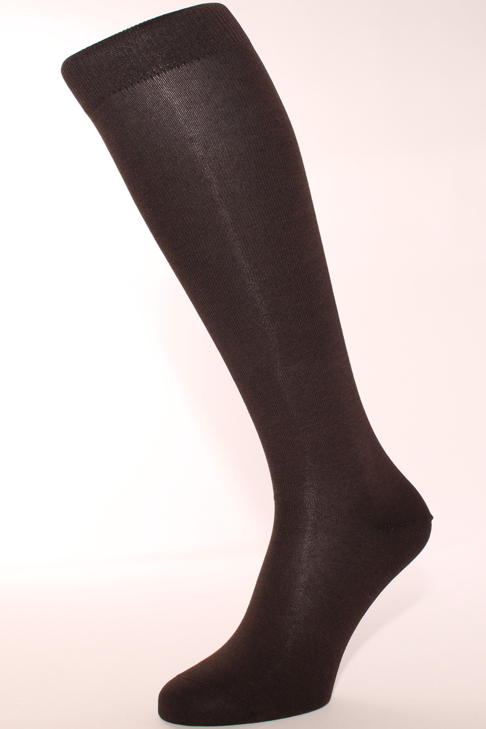 44fa964b7 Men s knee-high socks with cashmere interior - brown